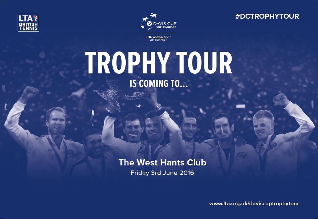 davis cup trophy tour